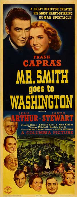 Frank Capra's Mr. Smith Goes to Washington - 14 x 36 Movie Poster - Insert Style A
