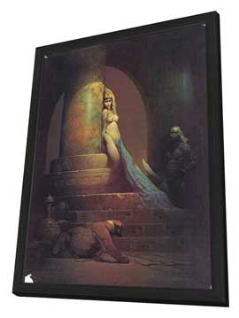 Frank Frazetta - 11 x 17 Movie Poster - Style B - in Deluxe Wood Frame