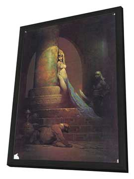 Frank Frazetta - 27 x 40 Movie Poster - Style B - in Deluxe Wood Frame