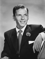 Frank Sinatra - Frank Sinatra on Couch, sitting in Formal Suit