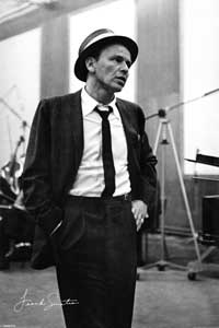 Frank Sinatra - Music Poster - 24 x 36 - Style G