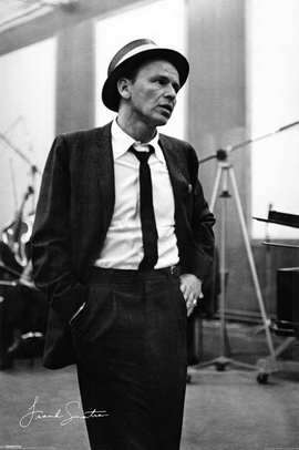 Frank Sinatra - 11 x 17 Movie Poster - Style H