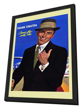 Frank Sinatra - 11 x 17 Movie Poster - Style A - in Deluxe Wood Frame