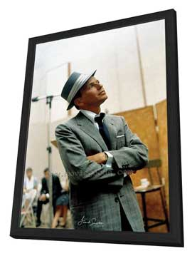 Frank Sinatra - 11 x 17 Movie Poster - Style C - in Deluxe Wood Frame