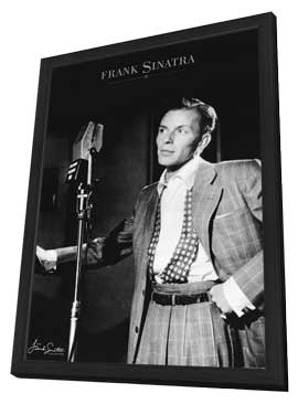 Frank Sinatra - 27 x 40 Movie Poster - Style B - in Deluxe Wood Frame