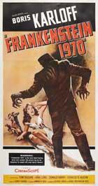 Frankenstein 1970 - 20 x 40 Movie Poster - Style A