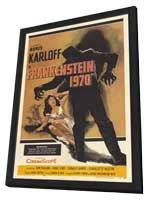 Frankenstein 1970 - 27 x 40 Movie Poster - Style B - in Deluxe Wood Frame