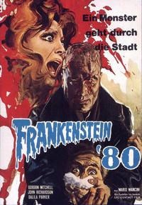 Frankenstein '80 - 11 x 17 Movie Poster - German Style A