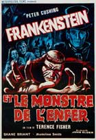 Frankenstein and the Monster from Hell - 11 x 17 Movie Poster - French Style A