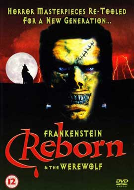 Frankenstein & the Werewolf Reborn! - 27 x 40 Movie Poster - UK Style A