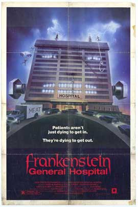 Frankenstein: General Hospital - 11 x 17 Movie Poster - Style A