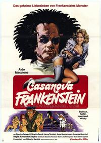 Frankenstein Italian Style - 11 x 17 Movie Poster - German Style A