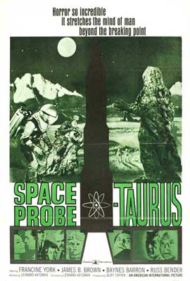 Frankenstein Meets the Space Monster - 27 x 40 Movie Poster - Style B