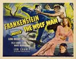 Frankenstein Meets the Wolfman - 22 x 28 Movie Poster - Half Sheet Style A