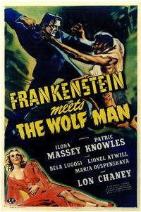 Frankenstein Meets the Wolfman - 11 x 17 Movie Poster - Style A
