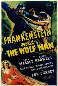 Frankenstein Meets the Wolfman - 27 x 40 Movie Poster - Style A