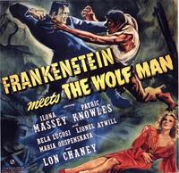 Frankenstein Meets the Wolfman - 11 x 14 Movie Poster - Style A