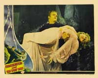 Frankenstein Meets the Wolfman - 11 x 14 Movie Poster - Style B