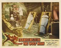 Frankenstein Meets the Wolfman - 11 x 14 Movie Poster - Style D
