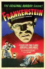 Frankenstein - 11 x 17 Movie Poster - Style C