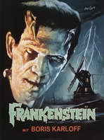 Frankenstein - 11 x 17 Movie Poster - Style E