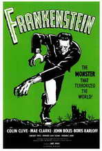 Frankenstein - 27 x 40 Movie Poster - Style B