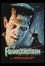 Frankenstein - 27 x 40 Movie Poster - Style A