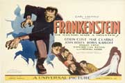 Frankenstein - 11 x 17 Movie Poster - Style H