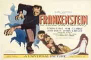 Frankenstein - 11 x 17 Movie Poster - Style H
