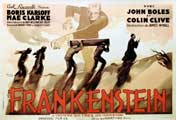 Frankenstein - 11 x 17 Movie Poster - French Style A