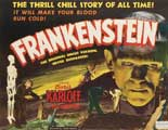 Frankenstein - 11 x 17 Movie Poster - Style J