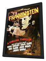 Frankenstein - 11 x 17 Movie Poster - Style I - in Deluxe Wood Frame