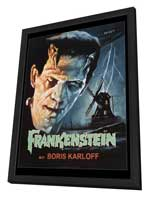 Frankenstein - 27 x 40 Movie Poster - Style A - in Deluxe Wood Frame