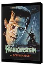 Frankenstein - 27 x 40 Movie Poster - Style A - Museum Wrapped Canvas