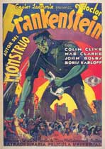 Frankenstein - 11 x 17 Movie Poster - Spanish Style A