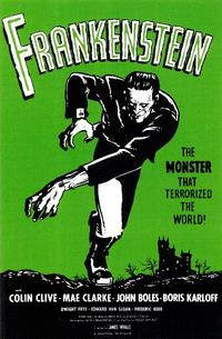 Frankenstein - 11 x 17 Movie Poster - Style A