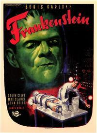Frankenstein - 11 x 17 Movie Poster - Style B