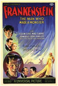 Frankenstein - 11 x 17 Movie Poster - Style D