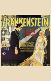 Frankenstein - 11 x 17 Movie Poster - Style F