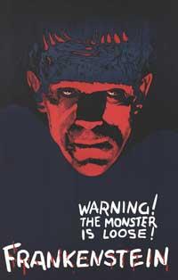 Frankenstein - 11 x 17 Movie Poster - Style G