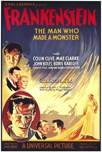 Frankenstein - 43 x 62 Movie Poster - Bus Shelter Style B
