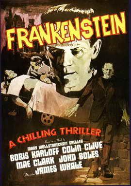 Frankenstein - 11 x 17 Movie Poster - Style I