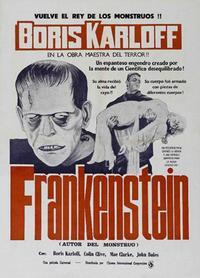 Frankenstein - 11 x 17 Movie Poster - Spanish Style F