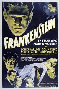 Frankenstein - 11 x 17 Movie Poster - Style K