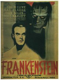 Frankenstein - 11 x 17 Movie Poster - French Style G