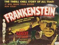 Frankenstein - 11 x 17 Movie Poster - Style J