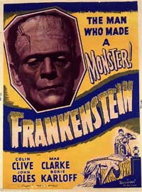 Frankenstein - 11 x 17 Movie Poster - Style L