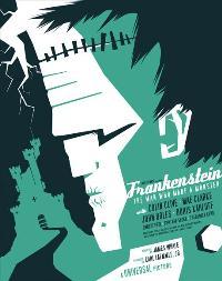 Frankenstein - 11 x 17 Movie Poster - Style M
