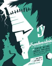 Frankenstein - 43 x 62 Movie Poster - Bus Shelter Style D