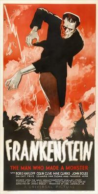 Frankenstein - 11 x 17 Movie Poster - Style N